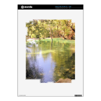 A small lake, water nature theme skins for iPad 2