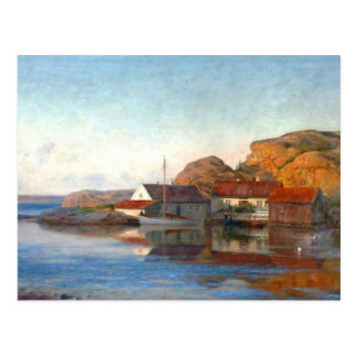 A Small Norwegian Inlet Postcard