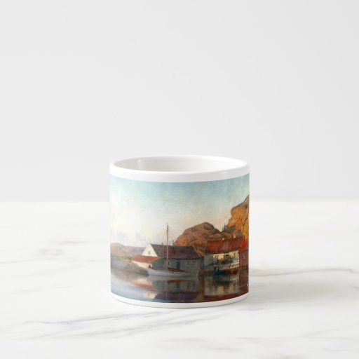 A Small Norwegian Inlet Espresso Cup