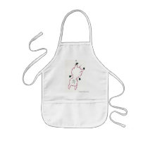 A small pig… kids' apron