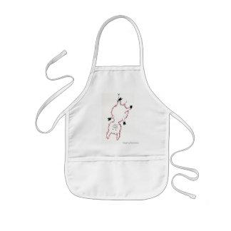 A small pig… kids' apron