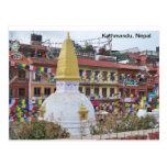 A Small Stupa in Kathmandu Postcard