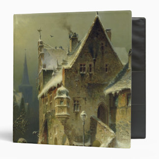 A Small Town in the Rhine 3 Ring Binder