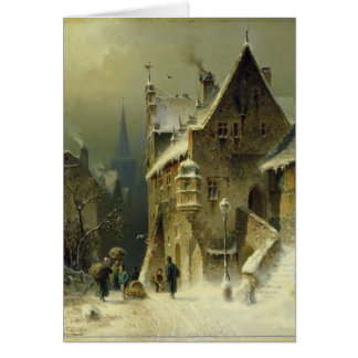 A Small Town in the Rhine Card
