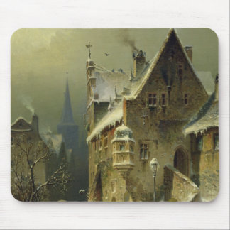 A Small Town in the Rhine Mouse Pad