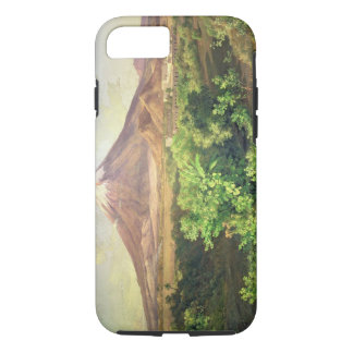 A Small Volcano in Mexican Countryside, 1887 (oil iPhone 7 Case