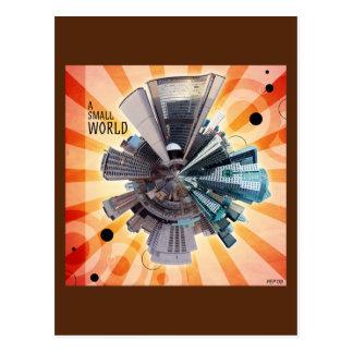 A Small World Postcard