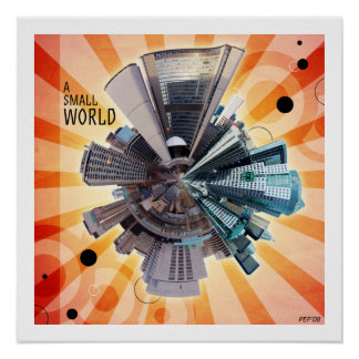 A Small World Poster