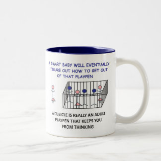 A SMART BABY WILL EVENTUALLY FIGURE OUT...mug.