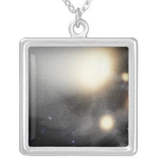 A smash-up of galaxies necklaces