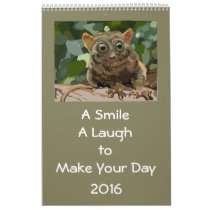A Smile, A Laugh, To Light Your Day 2016 long Calendar