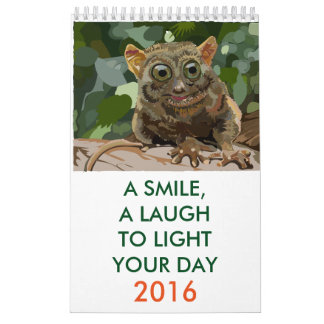 A Smile, A Laugh, To Light Your Day Calendar