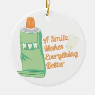 A Smile Ceramic Ornament