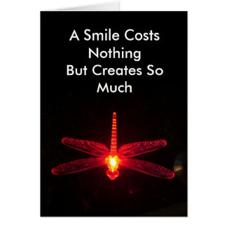 A Smile Costs Nothing Greeting Card