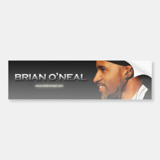 A smile from Brian O'Neal Banner Car Bumper Sticker