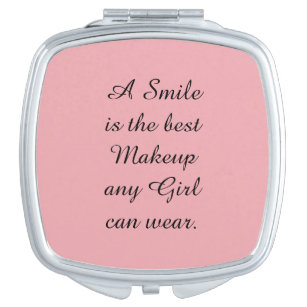 Smile Is The Best Makeup Bath Beauty Zazzle