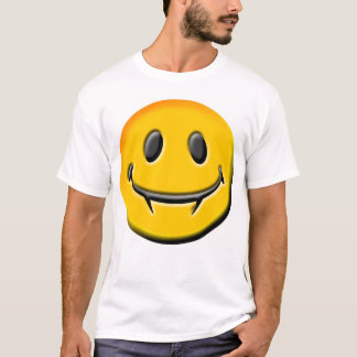 A Smiley T-Shirt with BITE!