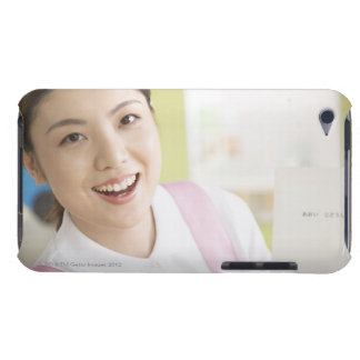 A smiling childminder barely there iPod cover