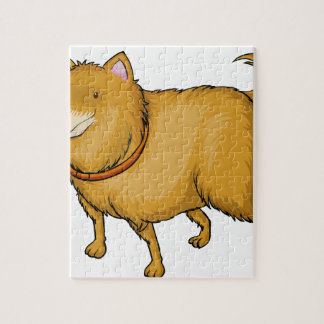 A smiling dog jigsaw puzzles