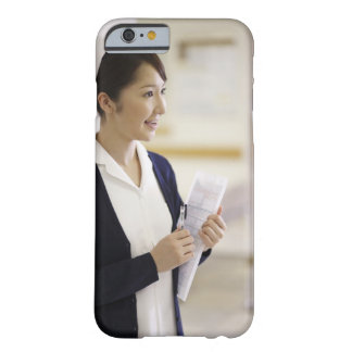 A smiling nurse barely there iPhone 6 case
