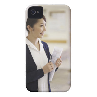 A smiling nurse iPhone 4 cases