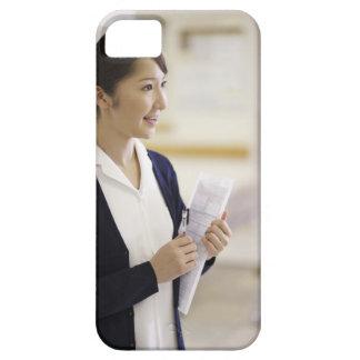 A smiling nurse iPhone SE/5/5s case