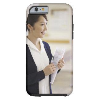 A smiling nurse tough iPhone 6 case