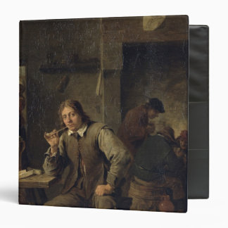 A Smoker Leaning on a Table, 1643 3 Ring Binder