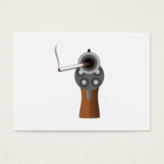 A Smoking Gun Business Card