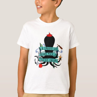 A Smooth Sea Never Made A Skilful Sailor T-Shirt