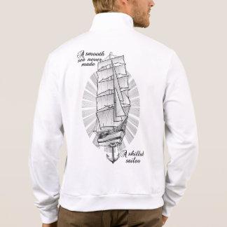 A smooth sea never made a skilled sailor jacket