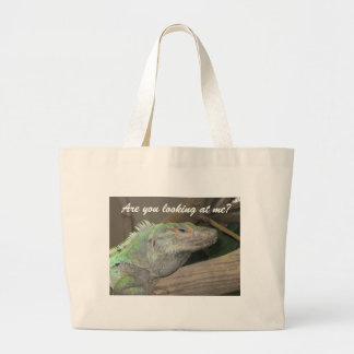 A smug lizard bag.  (Are you looking at me?)