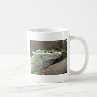 A smug lizard mug.  (Are you looking at me?) Coffee Mug