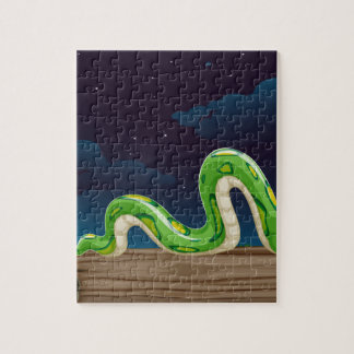 a snake jigsaw puzzle