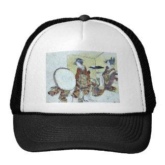 A snow bunny on a tray by Katsushika,Hokusai Trucker Hat