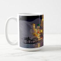 A Snow Family Christmas Mug