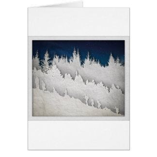 A Snow Hike Card