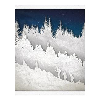 A Snow Hike Letterhead