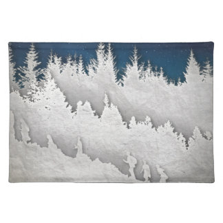 A Snow Hike Placemat