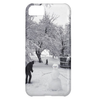 A Snowball Fight In Central Park iPhone 5C Case