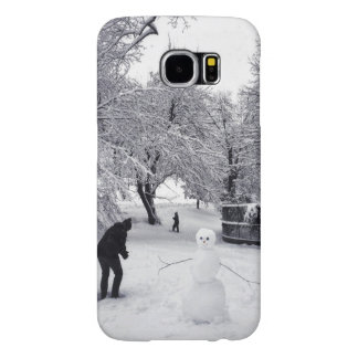 A Snowball Fight In Central Park Samsung Galaxy S6 Case