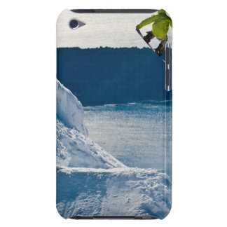 A snowboarder jumping iPod Case-Mate cases