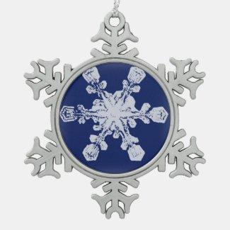 A Snowflake 10 Snowflake Ornament