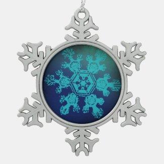 A Snowflake 1 Snowflake Ornament