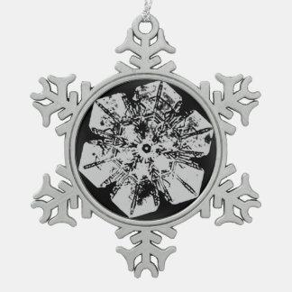 A Snowflake 2 Snowflake Snowflake Pewter Christmas Ornament