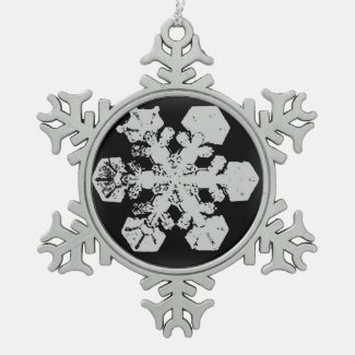 A Snowflake 3 Snowflake Ornament