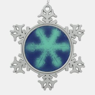 A Snowflake 4 Snowflake Snowflake Pewter Christmas Ornament
