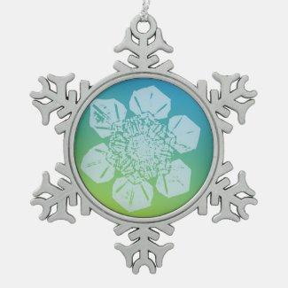 A Snowflake 5 Snowflake Ornament