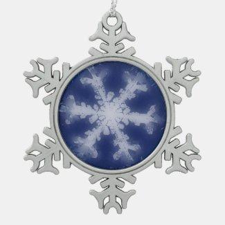 A Snowflake 6 Snowflake Ornament