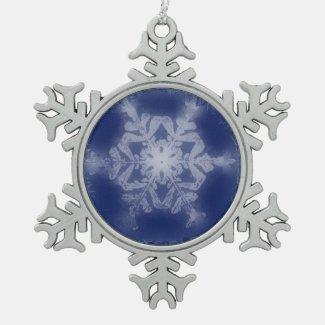 A Snowflake 7 Snowflake Ornament